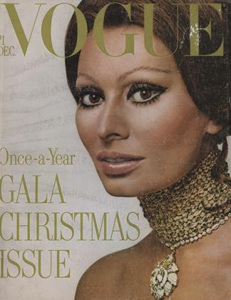 Cover for the December 1970 issue