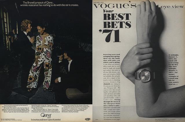 Your Best Bets '71
