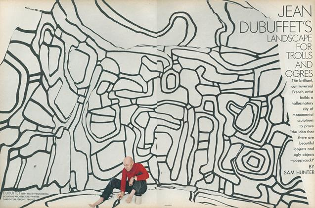 Jean Dubuffet's Landscape for Trolls and Ogres