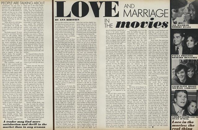 Love and Marriage in the Movies