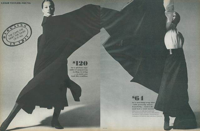 Article Preview: Bargains in Chic, March 1 1971 | Vogue