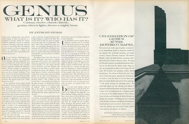 Article Preview: Genius: What Is It? Who Has It?, March 1 1971 | Vogue