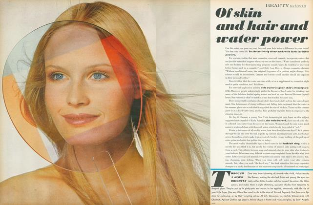 Article Preview: Of Skin and Hair and Water Power, March 1 1971 | Vogue
