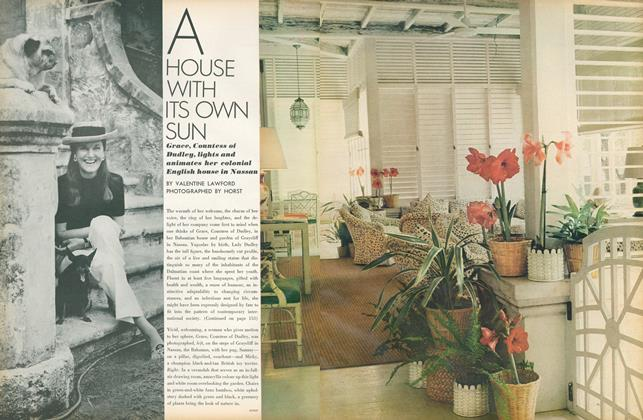 Article Preview: A House with Its Own Sun, March 1 1971 | Vogue