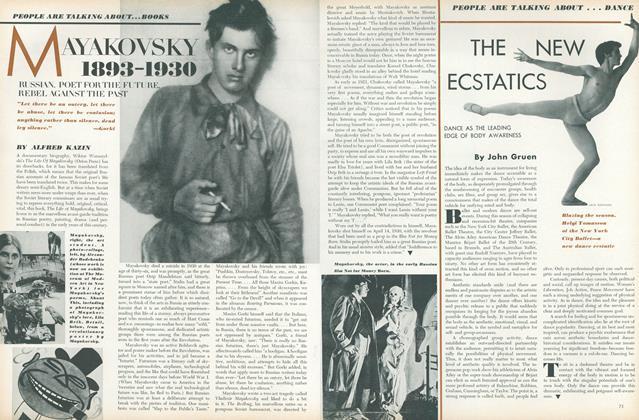 Books: Mayakovsky, 1893-1930