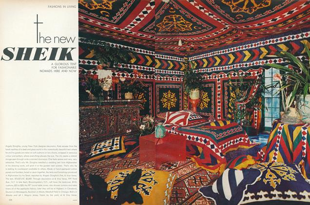 The New Sheik: A Glorious Tent for Fashionable Nomads Here and Now