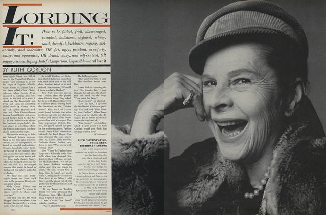Article Preview: Lording It!, April 1 1971 | Vogue