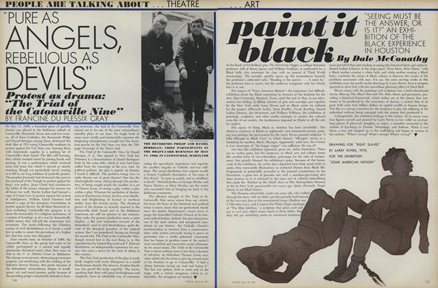 """Paint it Black: """"Seeing Must Be the Answer, or Is It?"""" AN Exhibition of the Black Experience in Houston"""