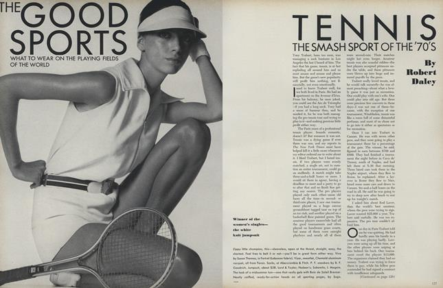Tennis: The Smash Sport of the '70's