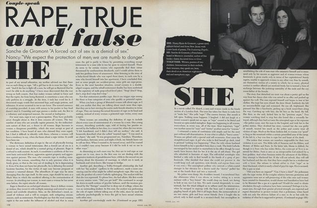 Couple-Speak Rape, True and False