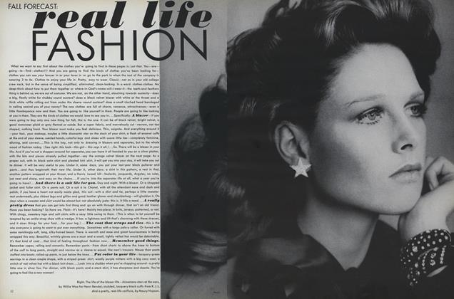 Article Preview: Fall Forecast: Real Life Fashion, July 1971 | Vogue