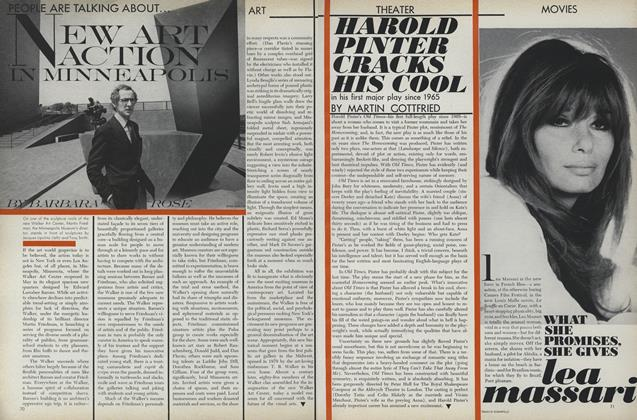 Article Preview: Art: New Art Action in Minneapolis, August 1 1971 | Vogue