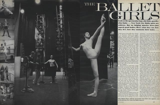 Article Preview: The Ballet Girls, August 1 1971 | Vogue