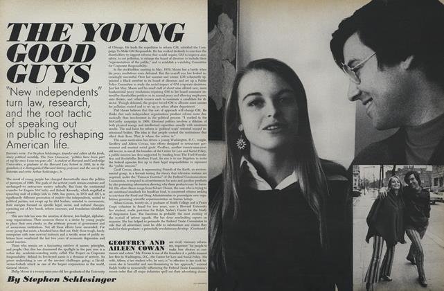 Article Preview: The Young Good Guys, August 1 1971 | Vogue