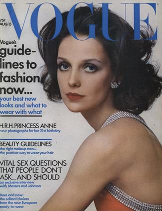 Cover for the August 15 1971 issue