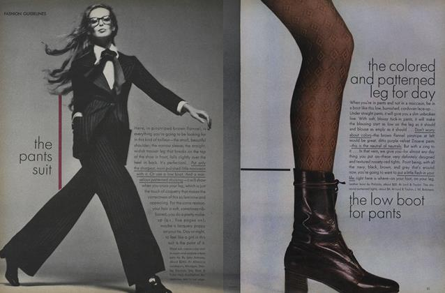 Article Preview: Fashion Guidelines, August 15 1971 | Vogue