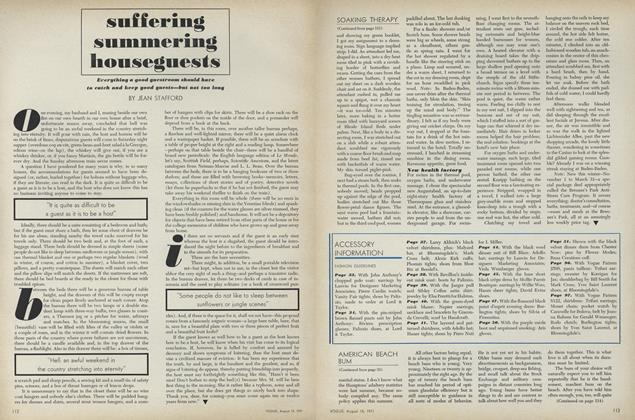 Article Preview: Suffering Summering Houseguests, August 15 1971 | Vogue