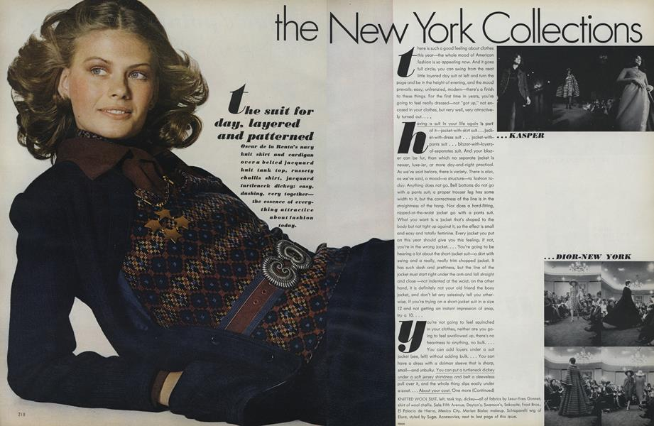The New York Collections: The Day, Layered and Patterned