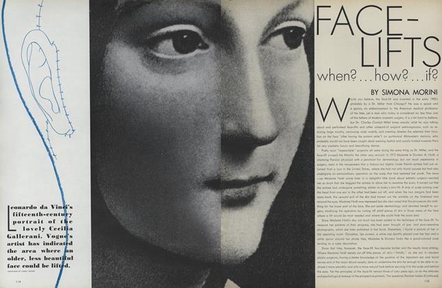 Face-lifts: when?... how?...if?