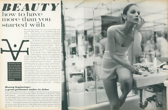 Article Preview: Beauty: How to Have More Than You Started With, October 1 1971 | Vogue