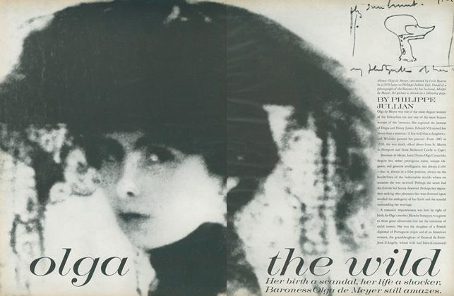 Article Preview: Olga the Wild, October 1 1971 | Vogue