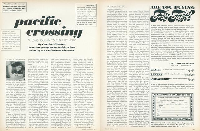 Article Preview: Pacific Crossing, October 1 1971 | Vogue