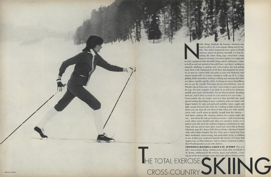 The Total Exercise: Cross-country Skiing