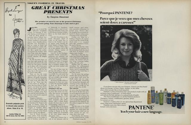 Article Preview: Great Christmas Presents, November 15 1971 | Vogue