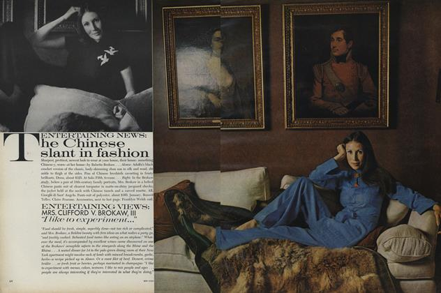 Article Preview: The Chinese Slant in Fashion, November 15 1971 | Vogue