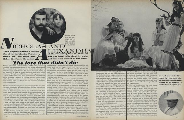 Article Preview: Nicholas and Alexandra, November 15 1971 | Vogue