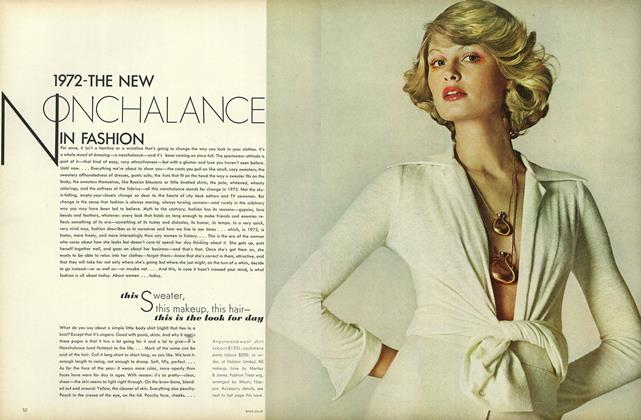 1972–The New Nonchalance in Fashion