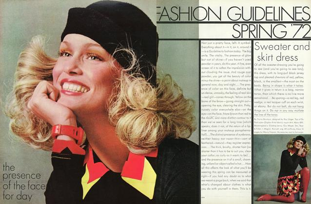 Fashion Guidelines Spring '72