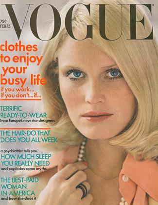 Cover for the February 15 1972 issue