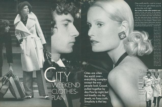 City Weekend Clothes-Plan