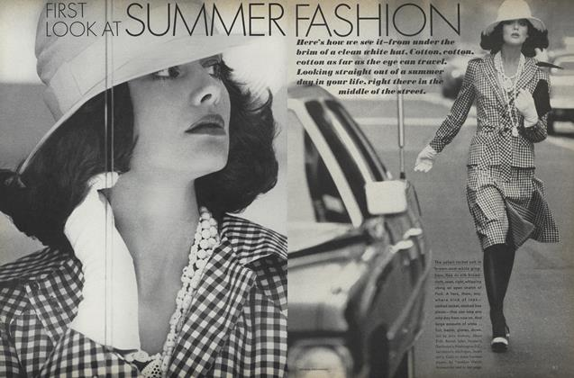 First Look at Summer Fashion