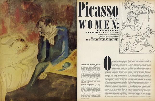 Picasso with Women: Pygmalion to His Galateas
