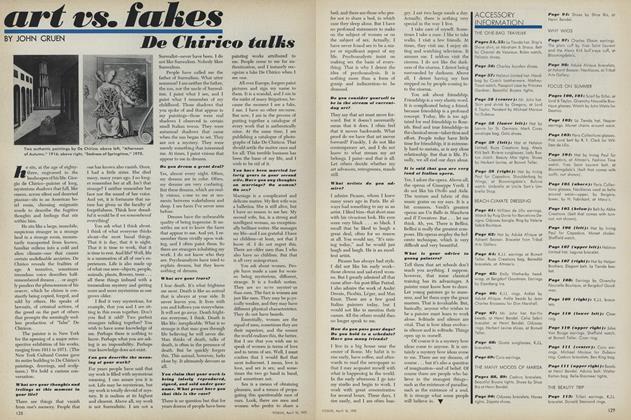 Art vs. Fakes: De Chirico Talks