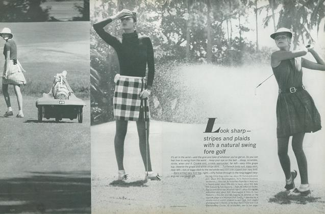 Look Sharp—Stripes and Plaids with a Natural Swing Fore Golf