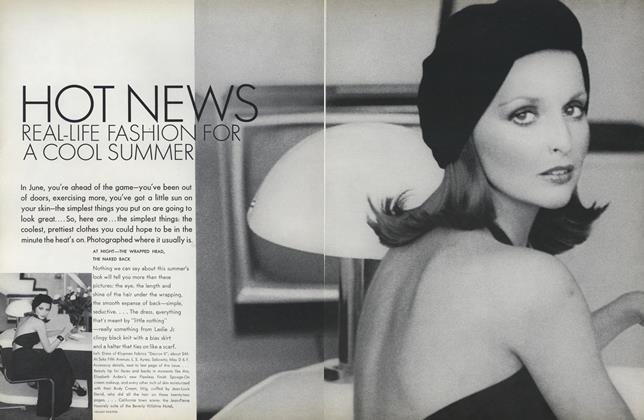 Article Preview: Hot News: Real-Life Fashion for a Cool Summer, June 1972 | Vogue