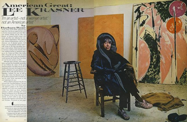 Article Preview: American Great: Lee Krasner, June 1972 | Vogue