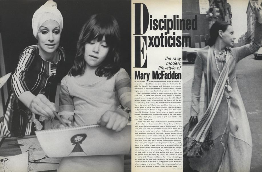 Disciplined Exoticism: Mary McFadden