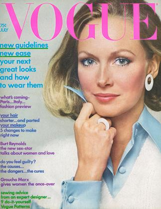 Cover for the July 1972 issue