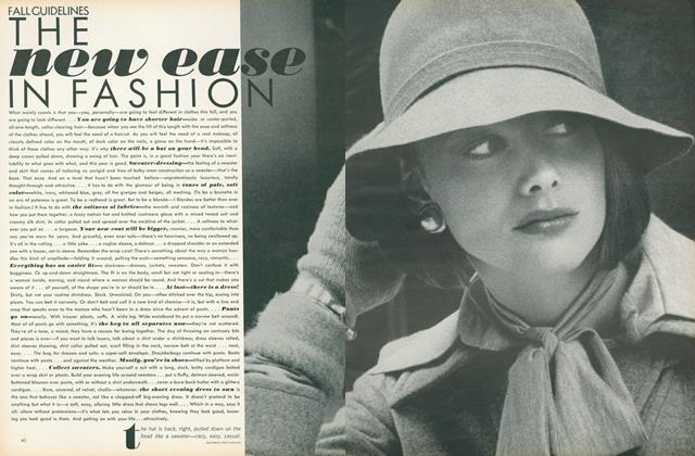 Article Preview: Fall Guidelines: The New Ease in Fashion, July 1972 | Vogue