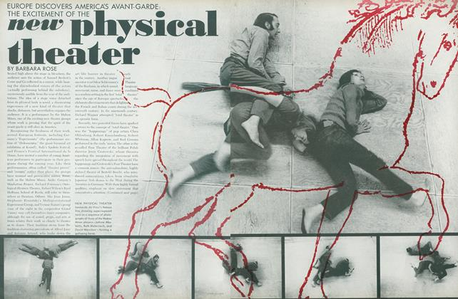 Article Preview: Europe Discovers America's Avant-Garde: The Excitement of the New Physical Theater, July 1972 | Vogue