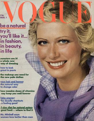 Cover for the August 1 1972 issue