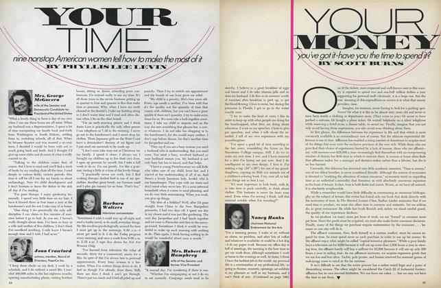 Your Time: Nine Nonstop American Women Tell How to Make the Most of It