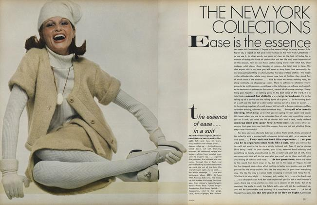 Article Preview: The New York Collections: Ease Is the Essence, September 1 1972 | Vogue