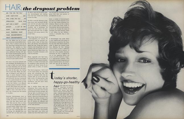 Article Preview: Hair: The Dropout Problem, September 1 1972 | Vogue