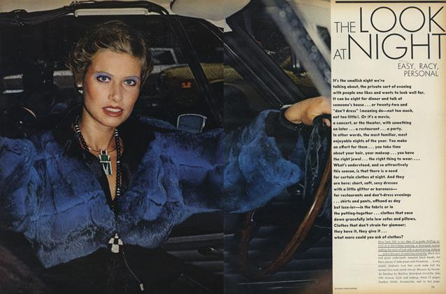Article Preview: The Look at Night: Easy, Racy, Personal, September 15 1972 | Vogue