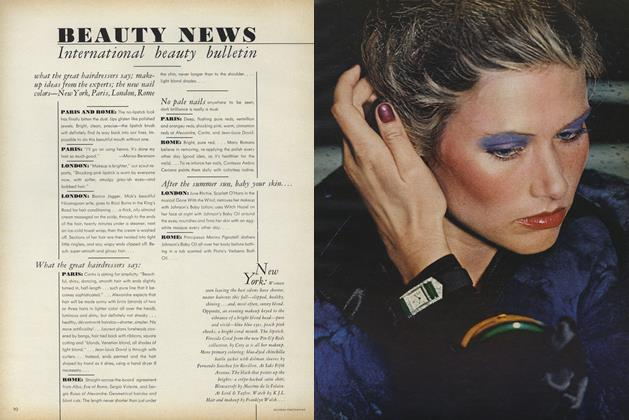 Article Preview: International Beauty Bulletin, September 15 1972 | Vogue